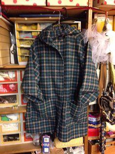 LA GIACCA SCOZZESE   Una giacca comoda e calda per la stagione autunnale e per gli inverni miti.