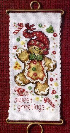 Sweet Greetings Gingerbread (Pg 1 of 3)