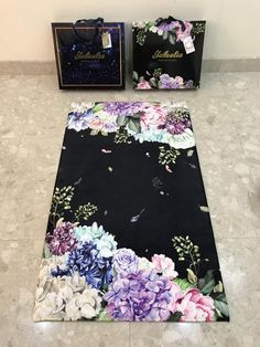 This is a luxury gift for your loved ones, modern and unique in design, made from memory foam with a super soft-touch velvet top and anti-slip backing, perfect for your knee support. - Our premium sajadah mats are the perfect gift for many occasions such as Eid, Ramadan,  Hajj, weddings, Memory Foam, Floral Print Design, Floral Prints, Muslim Prayer Rug, Prayer Corner, Gift Subscription Boxes, Islamic Gifts, Islamic Art, Ramadan Gifts