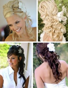 Wedding Party Hair - Weddingbee