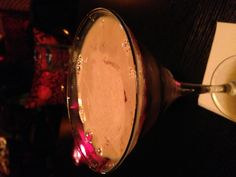 Cappuccino martini at Red Violet.