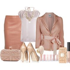 """pastel rose"" by dfanny on Polyvore"