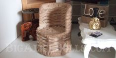 Wicker Tub Chair Tutorial