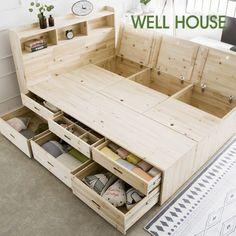 Magnificent Bedlinen Ideas Info: 4131879264 - home/home Pallet Furniture, Furniture Projects, Furniture Plans, Furniture Storage, Wood Projects, Furniture Design, Antique Furniture, Bed Frame With Storage, Diy Bed Frame