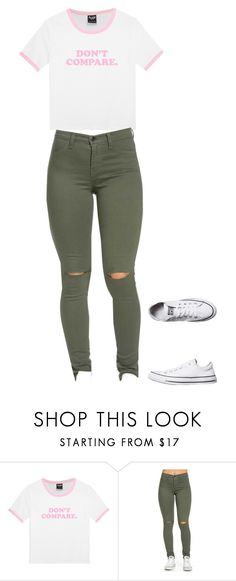 """""""Untitled #1546"""" by dance4ever1222 ❤ liked on Polyvore featuring Converse"""