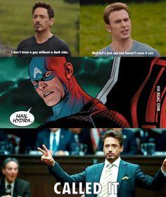 Tony knew it all along