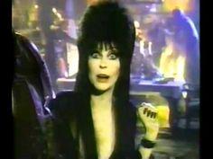 Elvira's Mug Root Beer Halloween Commercial