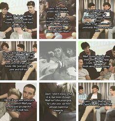 These boys are so protective of Niall... soooooo preshhh