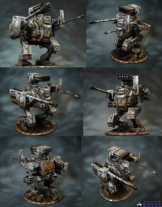 Dust Tactics Mech by Atropos907 on deviantART