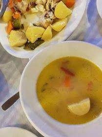 ΜΑΓΕΙΡΙΚΗ ΚΑΙ ΣΥΝΤΑΓΕΣ: Ψαρόσουπα με λαχανικά !!! Cheeseburger Chowder, Soup, Soups
