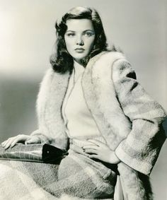 GENE TIERNEY (see other pins for more info)
