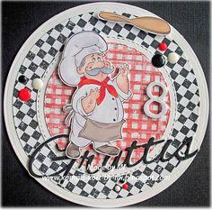 Pizza Chef - Digital Stamp