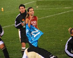 """""""Jesus paid it all."""" Tobin Heath  ((this woman is awesome!))"""