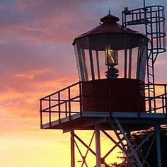 30 iconic beach experiences   Lighthouses   Sunset.com