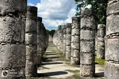 colonnes temple chichen itza