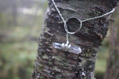Himalayan quartz. Beautiful handmade necklace