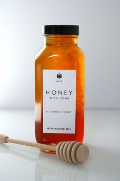 honey. oh how i love clean, pretty packaging.