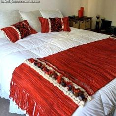 Plaid Crochet, Prayer Shawl, Loom Weaving, Textiles, Blanket, Rugs, Bedroom, Table, Handmade