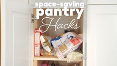 Pantry organization can give your kitchen an instant upgrade. The right pantry storage ideas can make your space both more functional and more beautiful, and these pantry organization and storage ideas and tips will help you make it happen. Small Kitchen Organization, Kitchen Organization Pantry, Diy Kitchen Storage, Kitchen Cabinet Design, Diy Storage, Organization Ideas, Organizing Kitchen Utensils, Organised Kitchen Diy, Kitchen Hacks