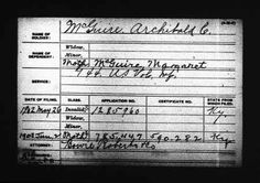 Archibald C McGuire discovered in Ancestry.com