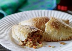 vegetarian Cornish Pasties- good basic recipe for any kind of pocket food! I stuffed mine with potatoes, kale, carrots, zucchini and feta (surprisingly good combination!)