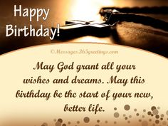 Religious Birthday Wishes - Messages, Wordings and Gift Ideas