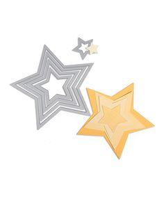 Look at this #zulilyfind! Stars Framelits Die Set #zulilyfinds
