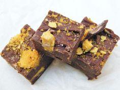 crunchie chocolate fudge