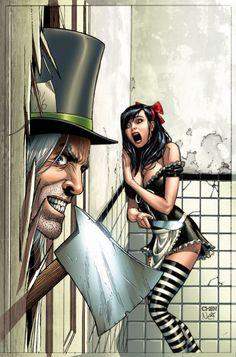 Google Image Result for http://www.majorspoilers.com/wp-content/uploads/2011/02/Wonderland2011AnnualA-Chen.jpg #MikeDebalfo #Comics #Art