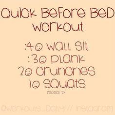 Before bedtime (: