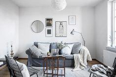 Uma decoração onde o branco é predominante e com alguns toques de madeira é simplesmente uma das combinações mais incríveis do estilo escandinavo. Parece m