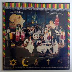 The Rastafarians - Orthodox LP Vinyl Record Album, ULC, Inc - KM6182, Reggae, 1981, Original Private Pressing