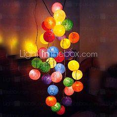 Set Of 35 156inch Christmas Colorful Lights ,Copper(110V 220V,35w) - USD $ 22.49