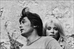 Alain Delon & Mireille Darc, french actors
