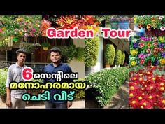 ചെടി വീട്   6 സെന്റിലെ ഈ വീട് കണ്ട് നോക്കൂ   Garden Tour Malayalam   Vasi Vlogz - YouTube Garden Online, House Tours, Planting Flowers, How To Plan, Youtube, Outdoor, Outdoors, Outdoor Games, The Great Outdoors