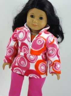 American Girl Doll Clothes 'Pullover' Jeans by ampmcreationstoo, $27.00
