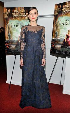 Keira Knightley. Valentino Couture