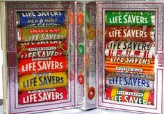 We always got a book of Lifesavers hard candy every year at Christmas!