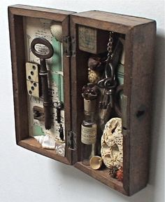 assemblage art 'the owl sanctuary' by mylittlelovebox on Etsy, $249.00