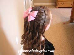 Cute hairstyle for little girls!