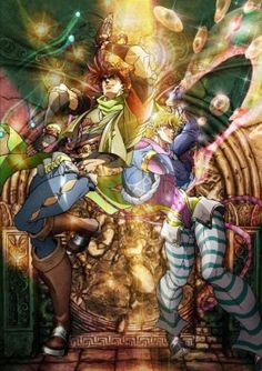 The Phantom Blood arc of the JoJo's Bizarre Adventure anime series concluded in epic fashion last week, wrapping up the story of Johnathan Joestar and his bloody war with the definition of evil Dio Brando. Now that Part 1 has been completed the anime will begin to adapt Part 2, the Battle Tendency arc.