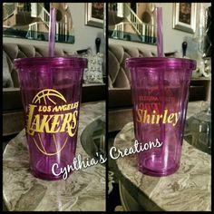 Lakers Tumbler