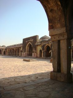 A few weeks back, I'd decided to begin a series of articles on some of the more interesting medieval mosques of Delhi. I began with an introduction to mosque architecture, then wrote a piece on one...