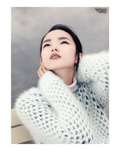 Xiao Wen Enchants in Autumn Looks for Elle Chinas September Issue