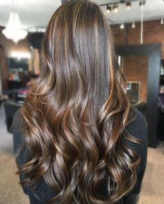 "111 Likes, 4 Comments - Bianca Nastari (@biancanastaridesigns) on Instagram: ""✨long hair balayage, first session with Briana @brishick ."""
