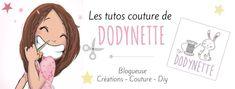 Dodynette, la reine de la machine à coudre, de la machine à broder et des tutos couture !