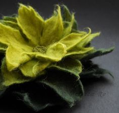 felted greenery