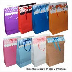 ff768e55a saco de papel cores varias taam 15x24x7 cm pct c 10 unidades html - Busca  na Sacolas e embalagens de papel para eventos, lojas, casamentos,  aniversário, ...