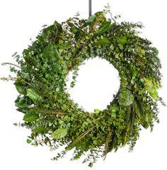 Meadow Natural Eucalyptus Wreath