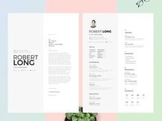 70 Creative & Beautiful Resume Examples to Get Inspired - Hipsthetic Best Free Resume Templates, Free Resume Examples, Cv Template, Resume Ideas, Cv Unique, Unique Resume, Modern Resume, Resume Cv, Resume Design